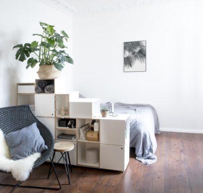 Elegante Raumteiler für kleine Räume peppen das Interieur auf ...
