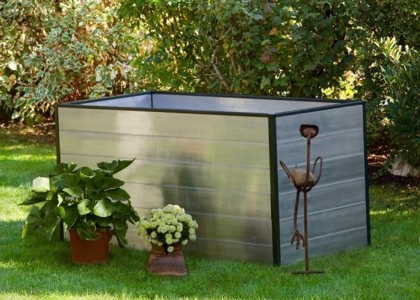 Garten im Herbst Was jetzt zu tun ist hochbeet im garten praktisch