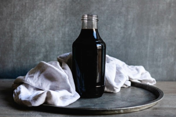 Holundersirup selber machen Holundersirup Rezept Holunderbeerensaft