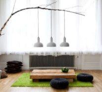 Ein japanisches Wohnzimmer strahlt Ruhe und edle Schlichtheit aus