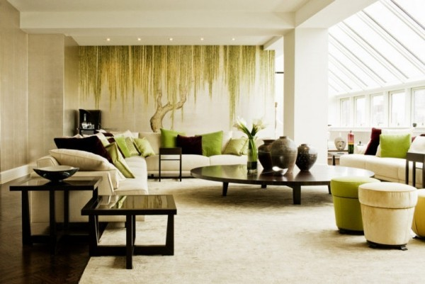 Japanisches Wohnzimmer moderne japanisch inspirierte Raumgestaltung