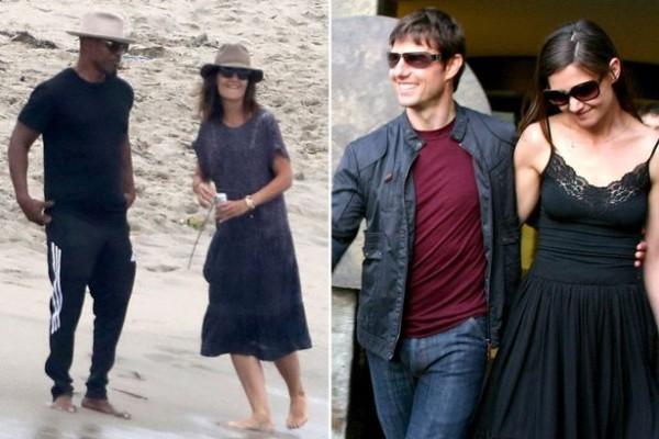 Katie Holmes Jamie Foxx Trennung auch mit Tom Cruise Scheidung nach sechs Jahren