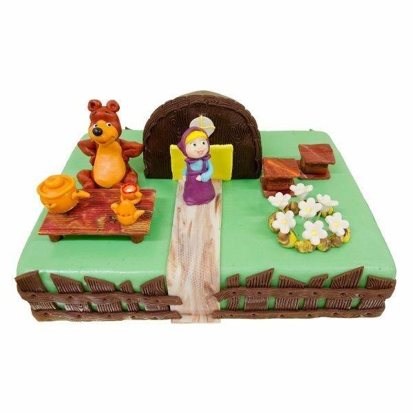 Mascha und der Bär Torte Kindertorte bestellen Masha i Medved