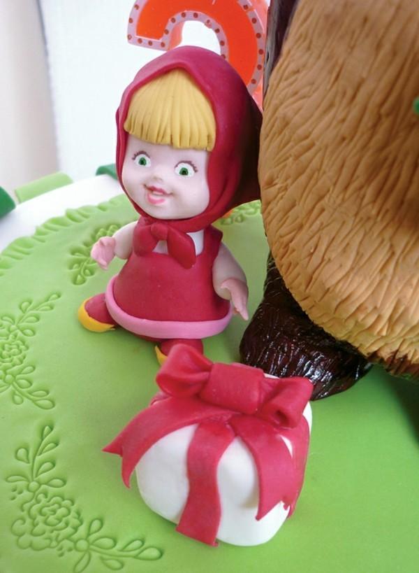 Mascha und der Bär Torte Motive Kindergeburtstag Torte