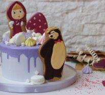 Mascha und der Bär Torte: Wissenswertes über die russische Kinderserie und 85 Beispiele von thematischen Motivtorten