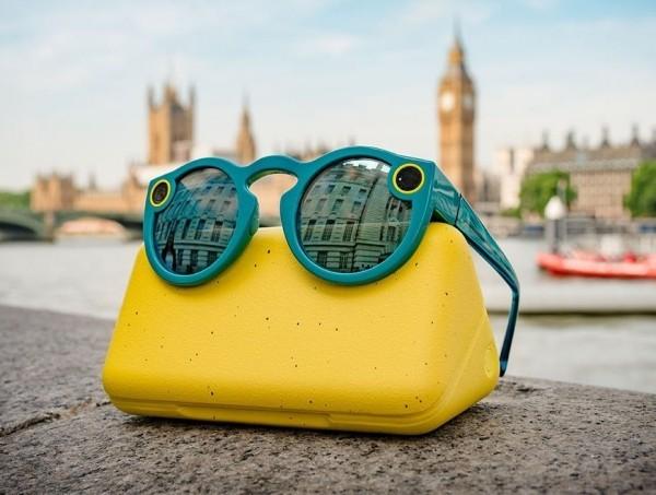 Mit Snapchat Spectacles 3 können Sie HD Fotos und Videos in 3D aufnehmen die erste sonnenbrillen kamera