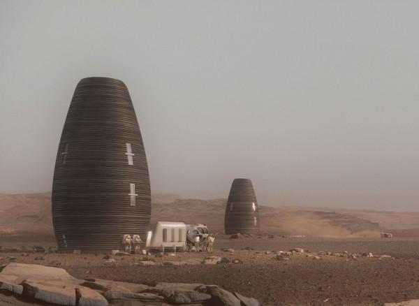 NASA braucht Ihre Hilfe bei der Entwicklung autonomer Weltraumroboter häuser auf mars