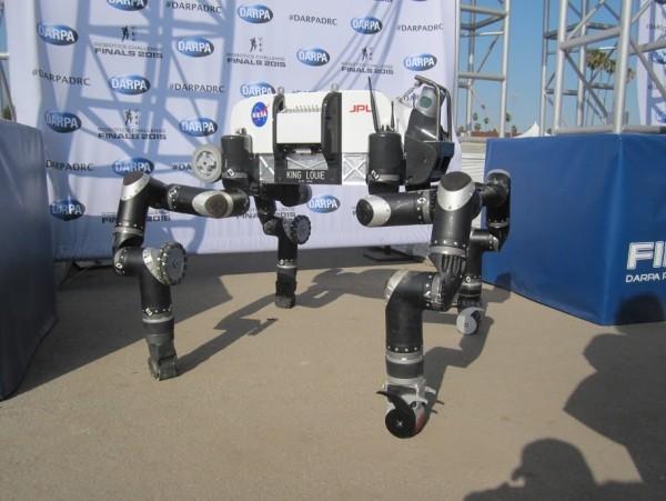 NASA braucht Ihre Hilfe bei der Entwicklung autonomer Weltraumroboter robosimian roboter affe