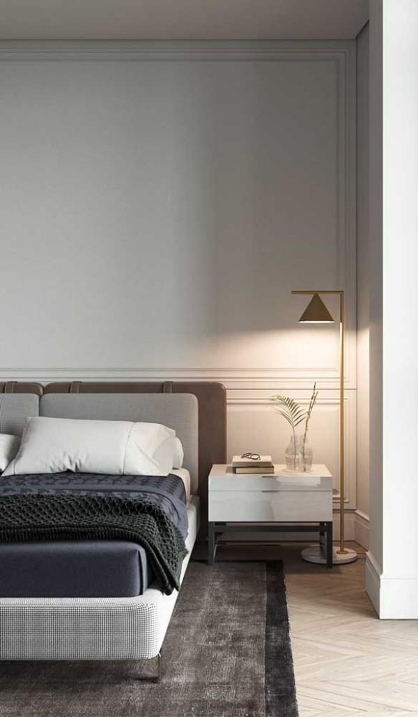 Nachtlampe - tolle Beleuchtung im Schlafzimmer