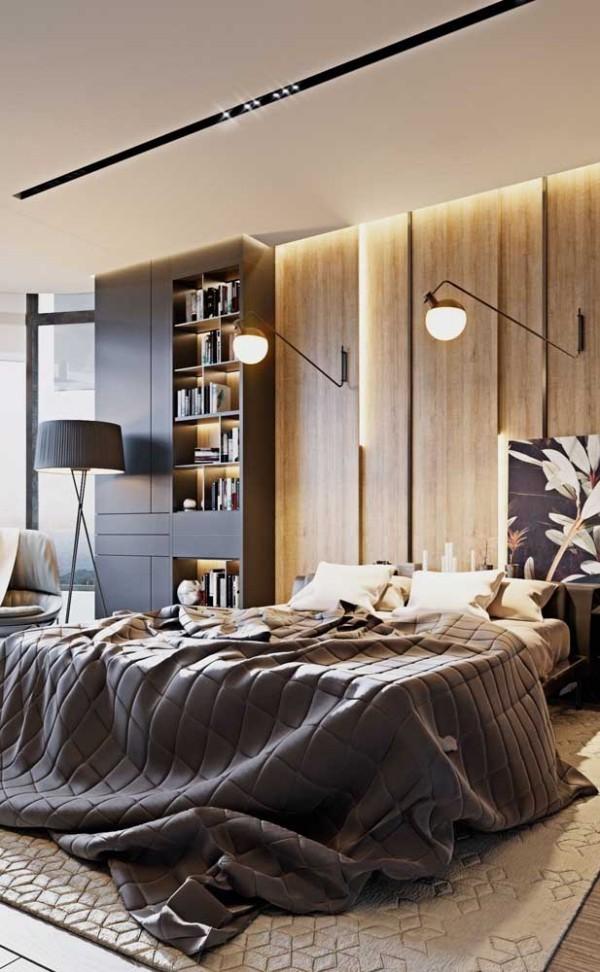 Nachtlampe - tolles Paar über dem Bett