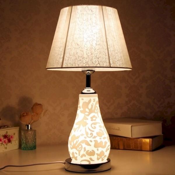 Nachtlampe - viel Textil drinnen
