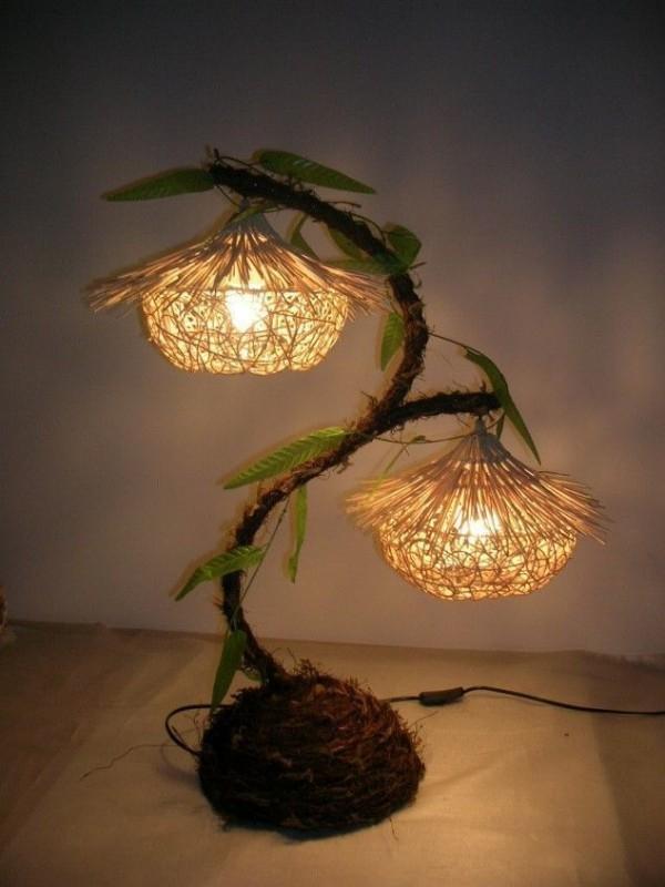 Nachtlampe - zwei Kunstwerke