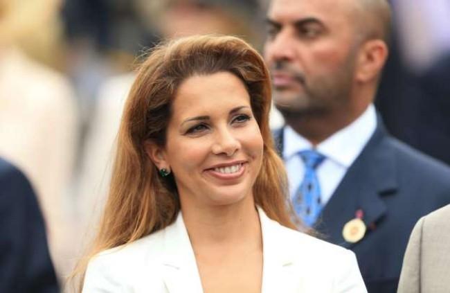 Prinzessin Haya Lachen auf Gesicht junge intelligente Frau gelungene Zwangsehe-Flucht