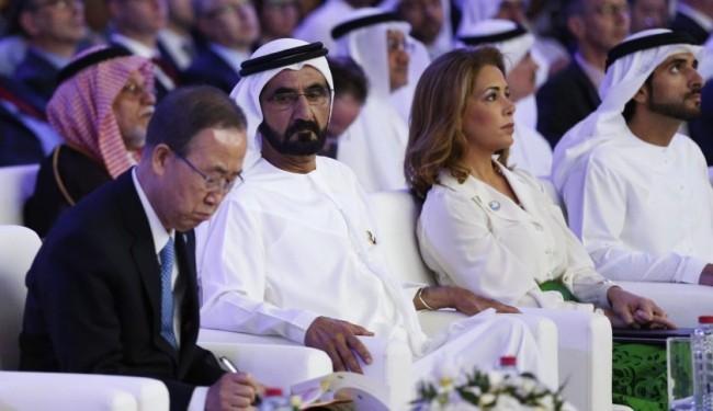 Prinzessin Haya Scheich Mohammed von Dubai gelungene Zwangsehe-Flucht