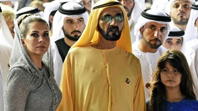 Prinzessin Haya Scheich Mohammed von Dubai ihre Tochter Al Jalita 11 Jahre alt