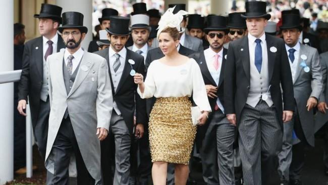 Prinzessin Haya Scheich Mohammed von Dubai sie hat Angst um ihre Sicherheit und diese ihrer Kinder