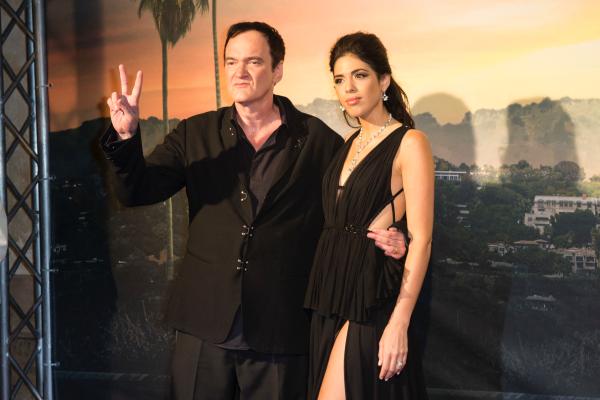 Quentin Tarantino Ehefrau Daniella Pick im Babyglück beide Stars werden Eltern