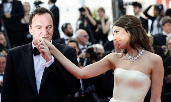 Quentin Tarantino Ehefrau Daniella Pick im Babyglück sie werden bald Eltern