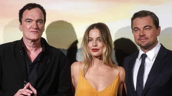 Quentin Tarantino in Cannes 2019 Leonardo DiCaprio Margot Robbie