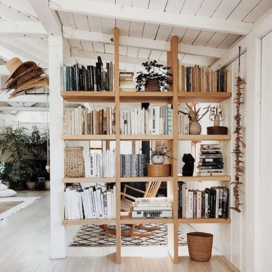 Raumteiler Bücherregal tolles DIY Projekt selber bauen