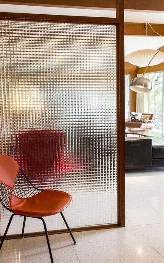 Raumteiler Schiebetür aus Glas beliebteste Option