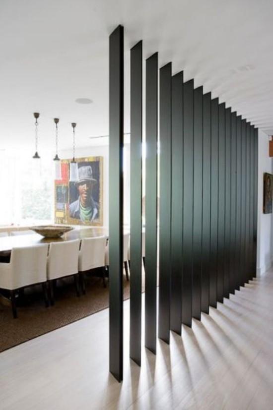 Raumteiler elegantes Design Einsatz in Büroräumen