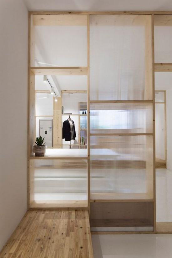 Raumteiler elegantes Design neue Ästhetik zu Hause