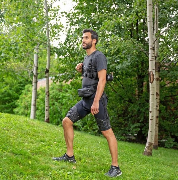 Roboter Shorts erleichtern das Gehen und Laufen exoskelett für wanderer und soldaten