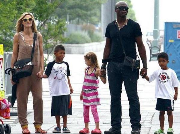 Sänger Seal hat Leni adoptiert noch drei eigene Kinder mit Heidi Klum