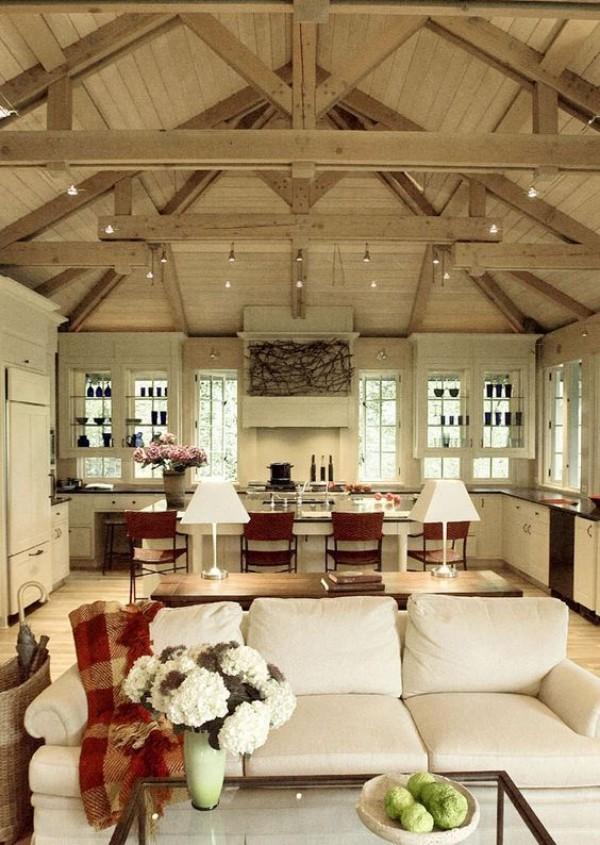 Scheune umbauen ein gemütliches Zuhause mit modernen Möbeln einrichten rustikalen Reiz aufbewahren
