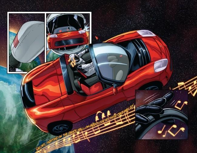 Starman auf dem Tesla Roadster kreist zum ersten Mal um die Sonne die abenteuer von starman