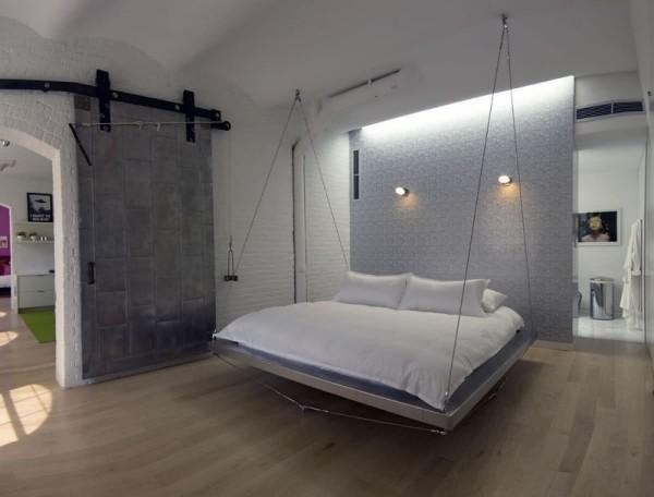 Stauraumbett - hängendes Bett