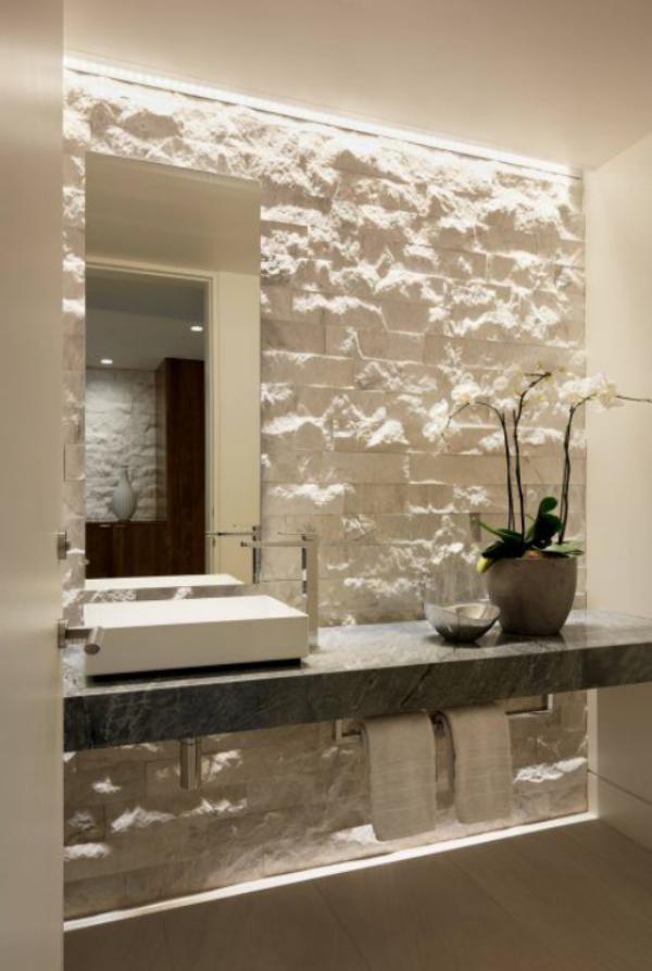 Stein im Bad - wunderbare Baddesigns voller natürlicher ...