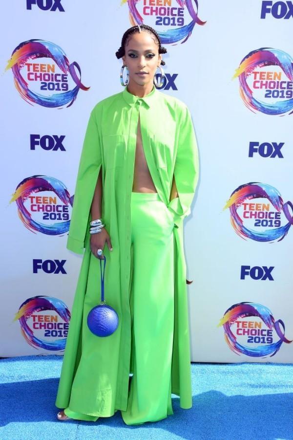 Teen Choice Awards - tolles grünes Kleid