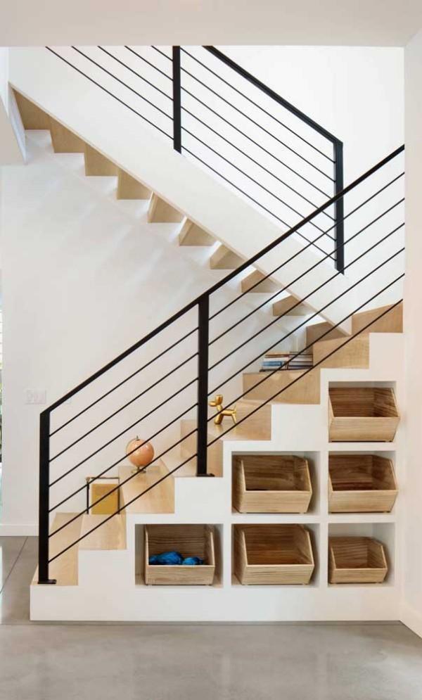 Treppengestaltung - Treppen mit tollen Schubladen