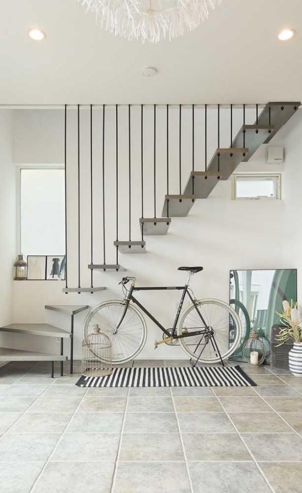 Treppengestaltung - Treppenhaus mit einem sehr modernen Design