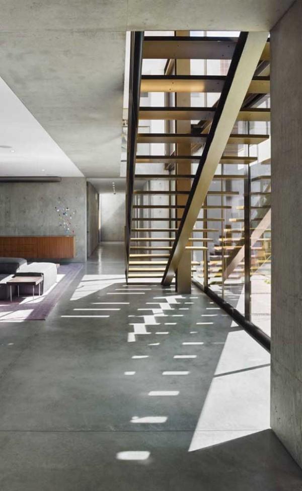 Treppengestaltung - schöne Treppen aus Metall
