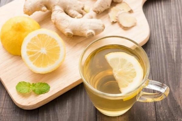 Tulsi Tee Ingwer Zitrone Tulsi Pflanze Tulsi Blätter