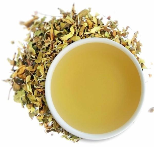 Tulsi Tee Wirkung getrocknete Tulsi Blätter Heiliges Basilikum