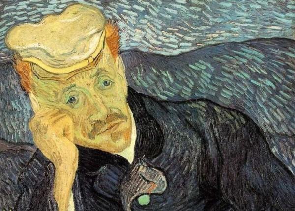 Van Gogh Porträt des Dr. Gachet Arzt des großen Malers in seinen letzten Lebensjahren