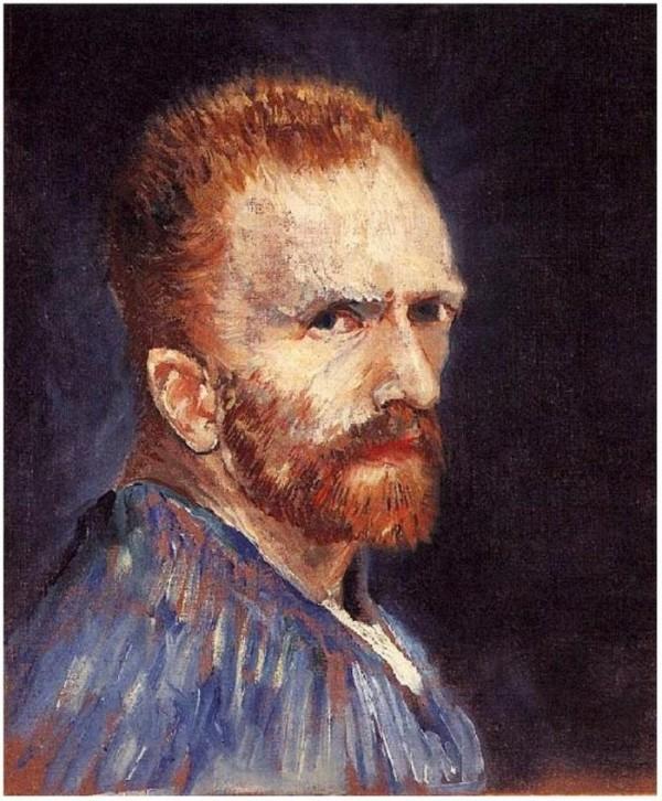 Van Gogh Selbstbildnis genialer Maler Impressionismus Selbstporträt Sommer 1887