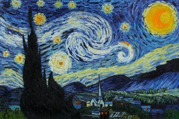 Van Gogh größter niederländischer Maler Post-Impressionismus Sternennacht über der Rhone