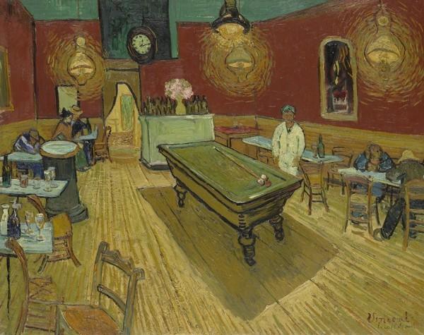 Van Gogh größter niederländischer Maler aller Zeiten Das Nachtcafé 1888