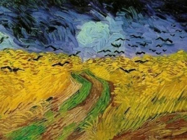 Van Gogh größter niederländischer Maler aller Zeiten Kornfeld mit Krähen das letzte Bild des Künstlers