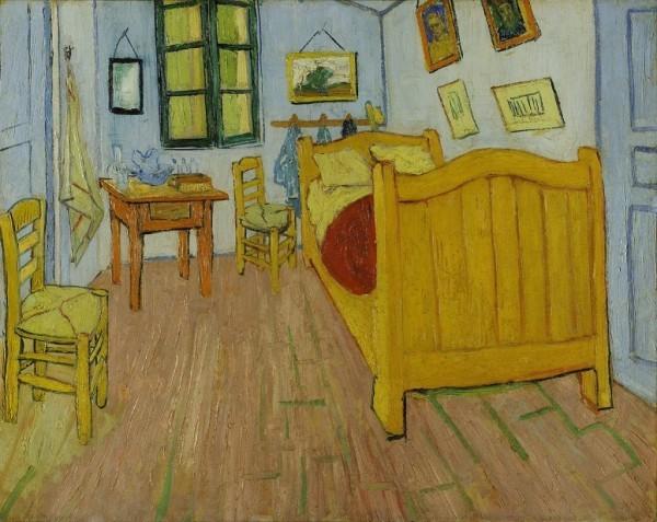 Van Gogh größter niederländischer Maler aller Zeiten Schlafzimmer in Arles 1888