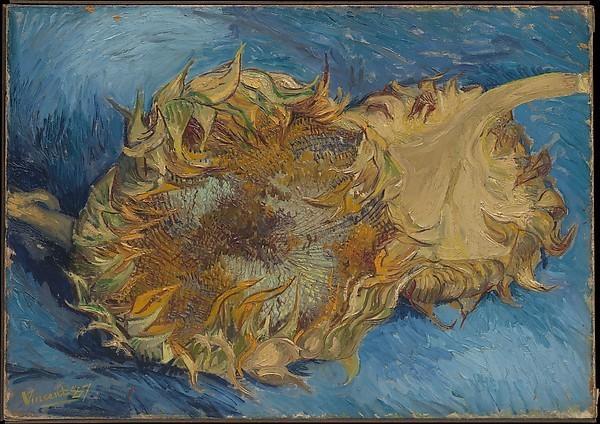 Van Gogh größter niederländischer Maler aller Zeiten zwei abgeschnittene Sonnenblumen