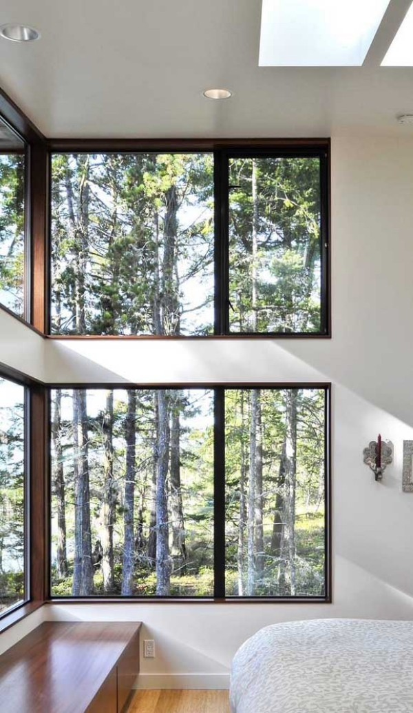 aluminiumfenster - Fenster zum Wald