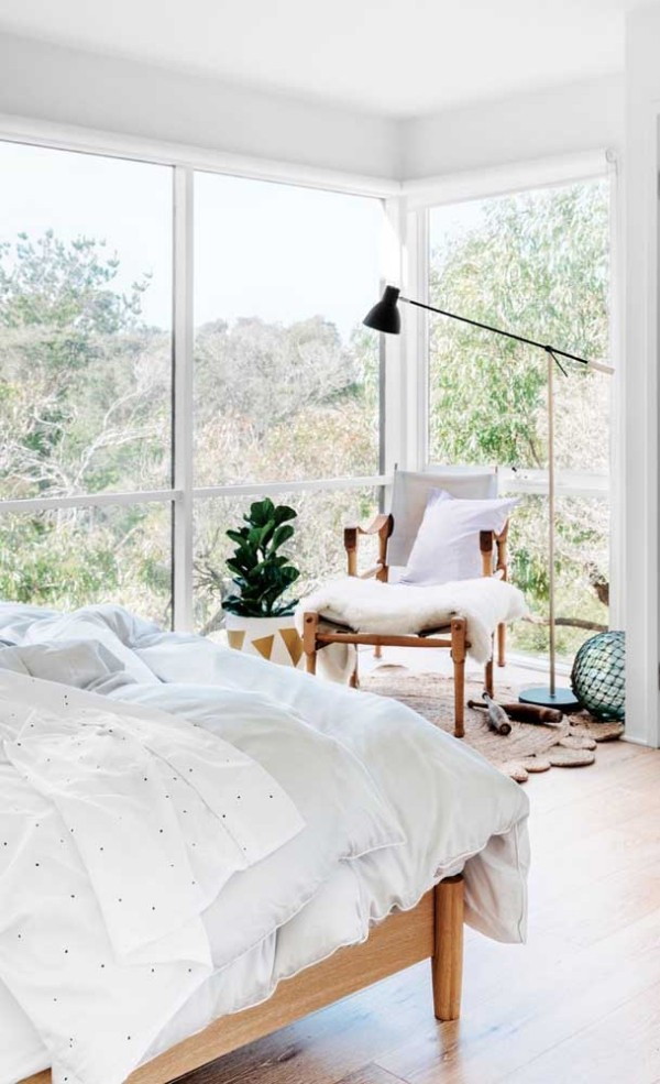 aluminiumfenster - elegantes Design einer Leuchte