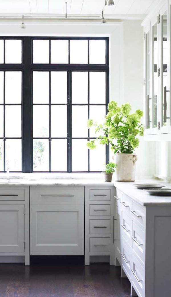 aluminiumfenster - schöne Einrichtung für die Küche