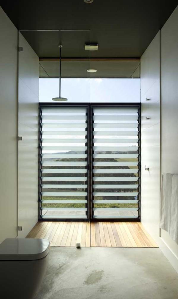 aluminiumfenster - schöne Jalouisen